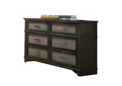 Anatole Dark Walnut Dresser,Acme