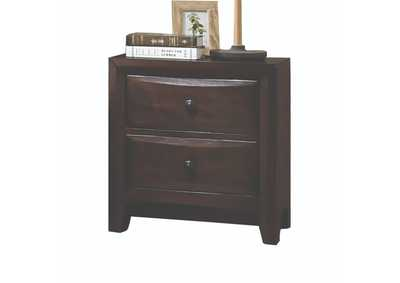 Brenta Walnut Nightstand,Acme