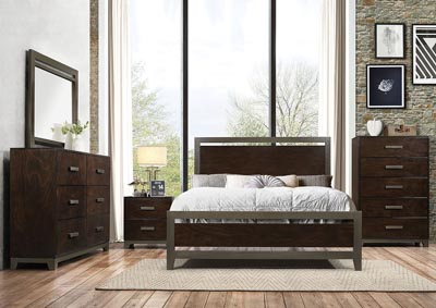 Image for Charleen Walnut Queen Bed