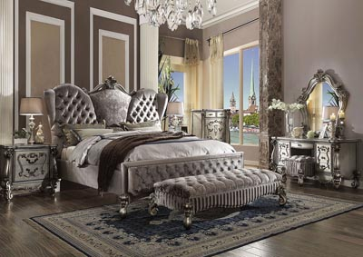 Image for Versailles Antique Platinum California King Bed