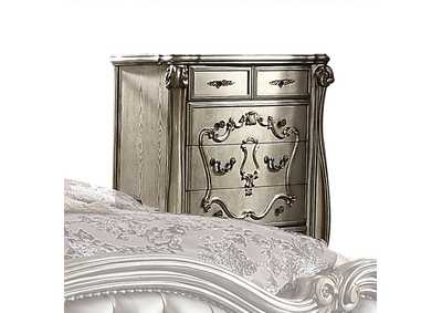 Versailles Antique Platinum Chest,Acme