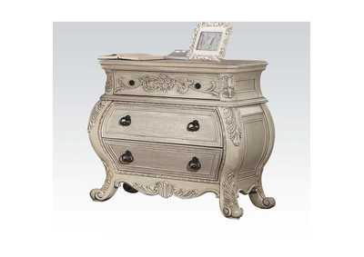Ragenardus Antique White Nightstand,Acme