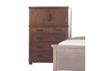 Vibia Cherry Oak Chest,Acme