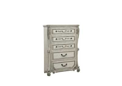Braylee Antique White Chest,Acme