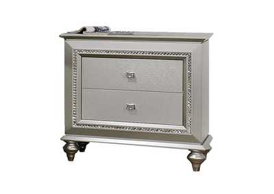 Kaitlyn Champagne Nightstand,Acme