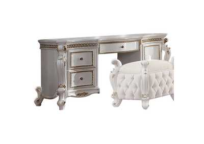 Image for Picardy Antique Pearl Vanity Desk