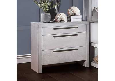 Aromas White Oak Nightstand,Acme