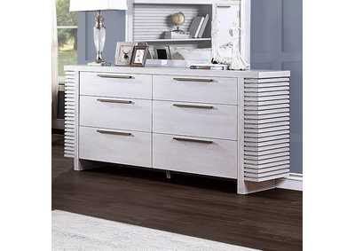 Aromas White Oak Dresser,Acme