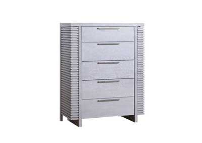 Aromas White Oak Chest,Acme