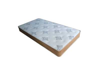 "Image for Dinka 8"" Single Side, Pattern Fabric Twin Mattress"