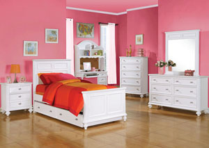 Image for Athena White Full Bed