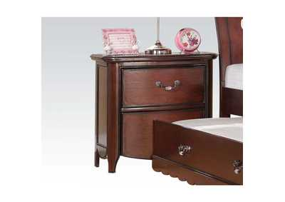Cecilie Cherry Nightstand,Acme