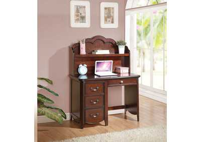 Image for Cecilie Cherry Computer Desk
