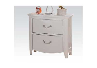 Cecilie White Nightstand,Acme