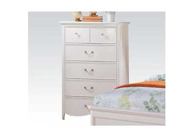 Cecilie White Chest,Acme