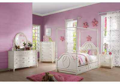 Image for Dorothy Ivory Twin Bed
