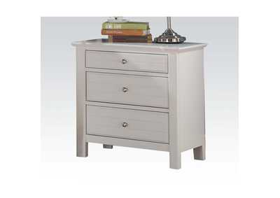 Mallowsea White Nightstand,Acme