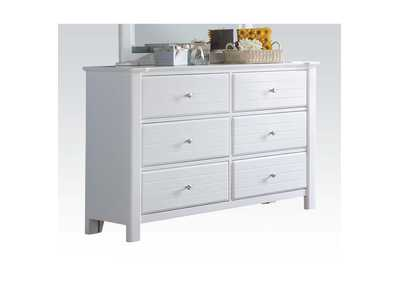 Mallowsea White Dresser,Acme