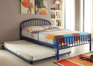 Cailyn Blue Metal Full Bed