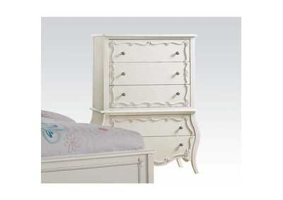 Edalene Pearl White Chest,Acme