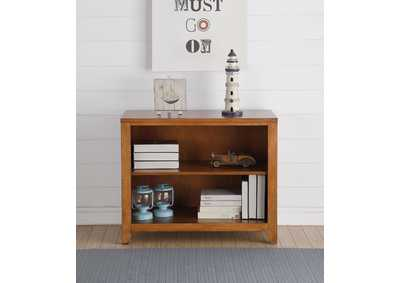 Image for Lacey Cherry Oak Bookshelf