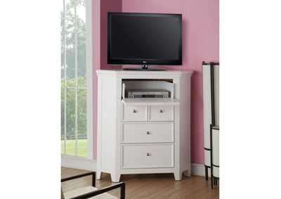 Image for Lacey White TV Stand