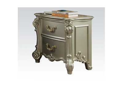 Vendome II Champagne Nightstand,Acme