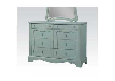 Morre Antique Teal Dresser,Acme