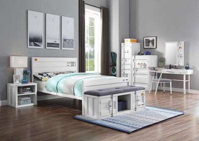 Image for Cargo White Full Bed