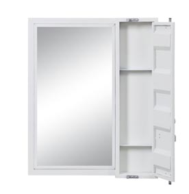 Image for Cargo White Vanity Mirror