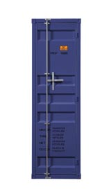 Image for Cargo Blue Wardrobe (Single Door)