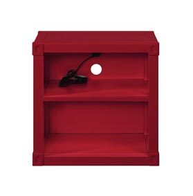 Cargo Red Nightstand (USB)