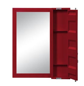 Image for Cargo Red Vanity Mirror
