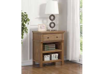 Inverness Reclaimed Oak Nightstand,Acme