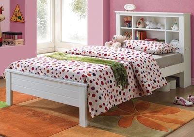 Image for Yara White Twin Bed