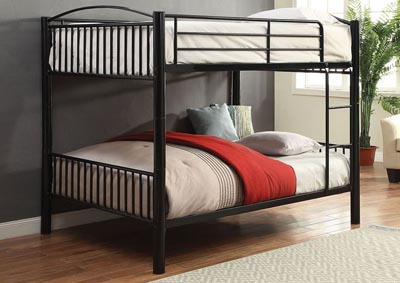 Cayelynn Black Full/Full Bunk Bed,Acme