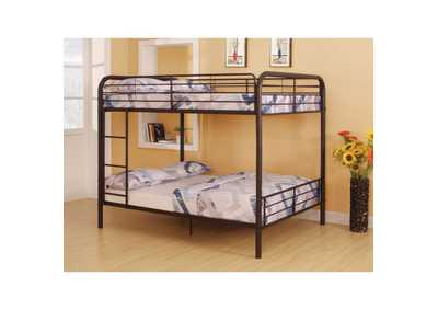 Bristol Brown Full/Full Bunk Bed