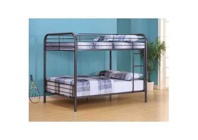 Bristol Gunmetal Full/Full Bunk Bed