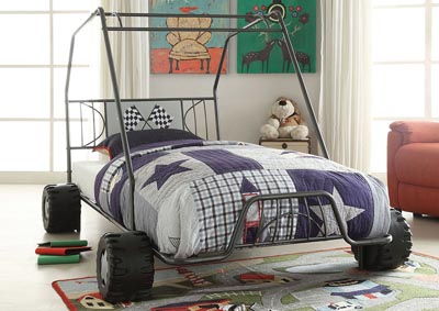 Image for Xander Gunmetal Go Kart Twin Bed