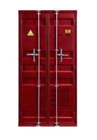 Image for Cargo Red Wardrobe (Double Door)