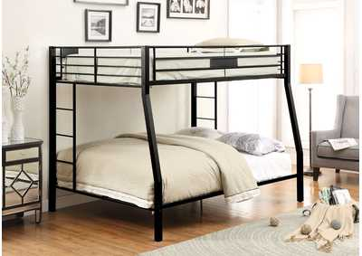 Limbra Sandy Black Full XL/Queen Bunk Bed