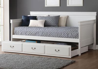 Bailee White Twin Daybed