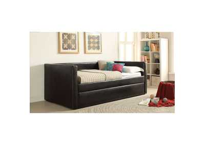 Image for Aelbourne  Black PU Daybed
