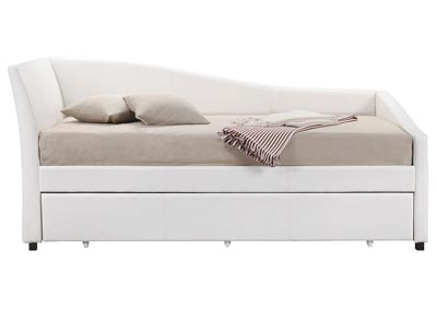 Jedda White Twin Daybed and Trundle