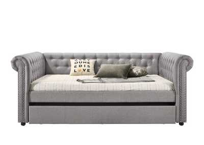 Image for Justice Smoke Gray Full Daybed & Twin Trundle