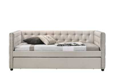 Image for Romona Beige Full Daybed & Twin Trundle