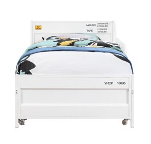 Image for Cargo White Twin Daybed and Trundle