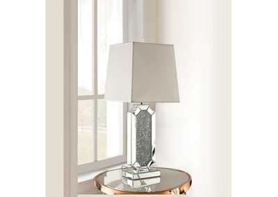 Image for Noralie Mirrored & Faux Diamonds Table Lamp