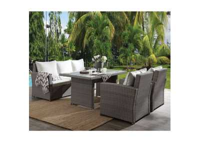 Image for Tahan Gray 4Pc Patio Set