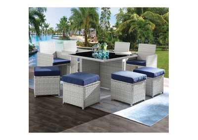 Image for Paitalyi Blue 9Pc Patio Set
